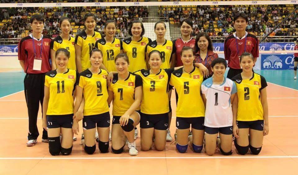 Đội tuyển bóng chuyền nữ quốc gia Việt Nam sang Triều Tiên tập huấn