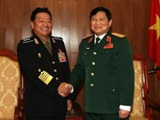 DPR Korea military delegation visits Vietnam