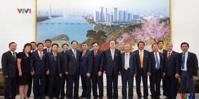 Phó Chủ tịch Quốc hội Huỳnh Ngọc Sơn thăm chính thức Triều Tiên