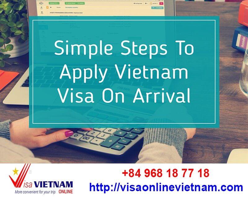 website apply vietnam visa on arrival