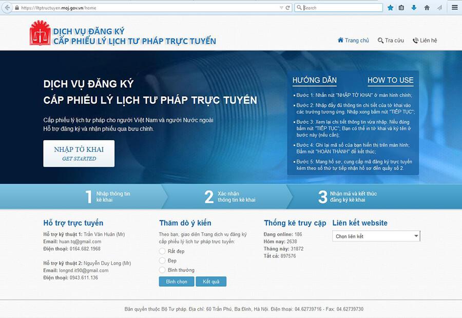 Ly lich tu phap online