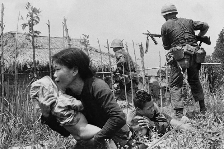 What caused the Vietnam War?