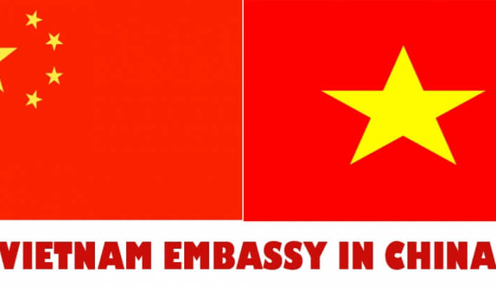 All the address of Vietnam Embassy in China