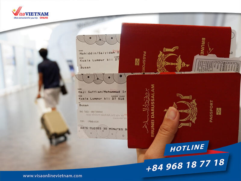 How to apply for Vietnam visa on arrival in Brunei?