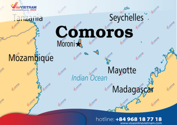How to get Vietnam visa on arrival in Comoros?