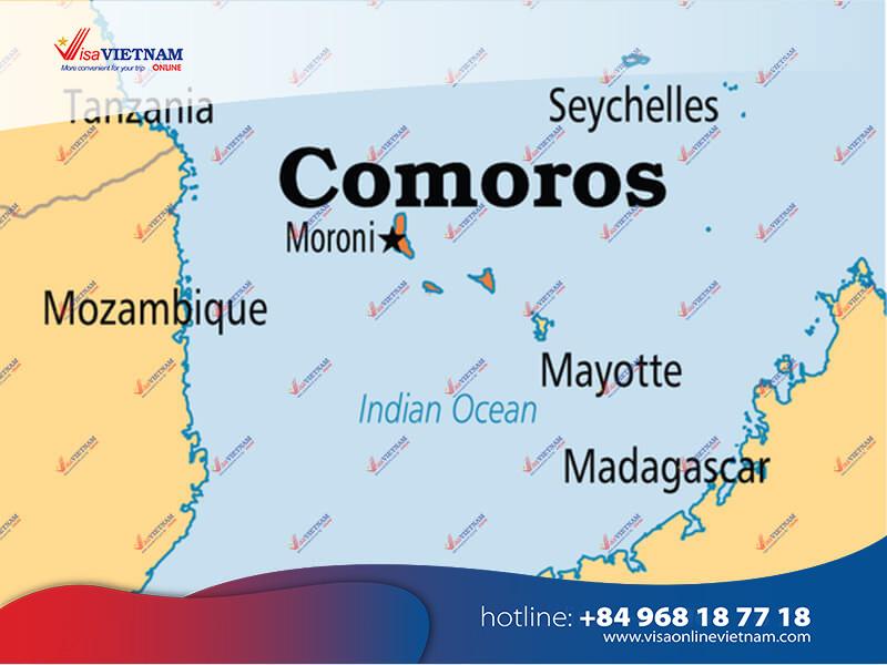 How to get Vietnam visa on arrival in Comoros?