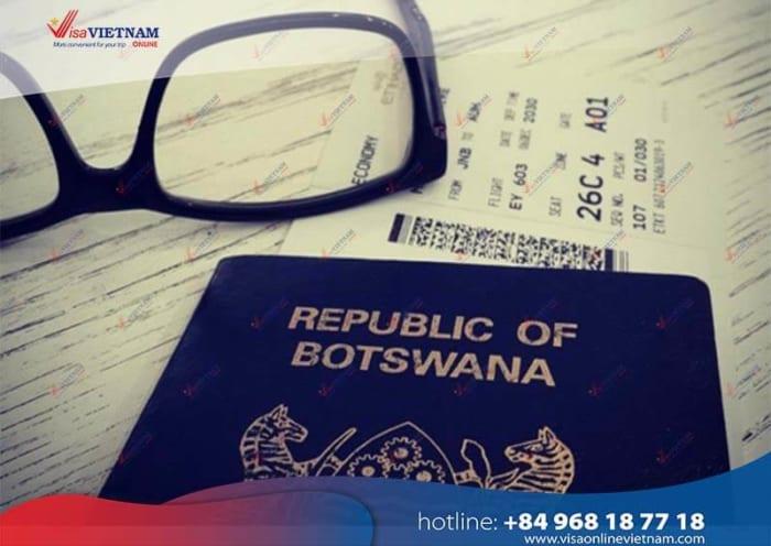 Best way to apply for Vietnam visa in Botswana