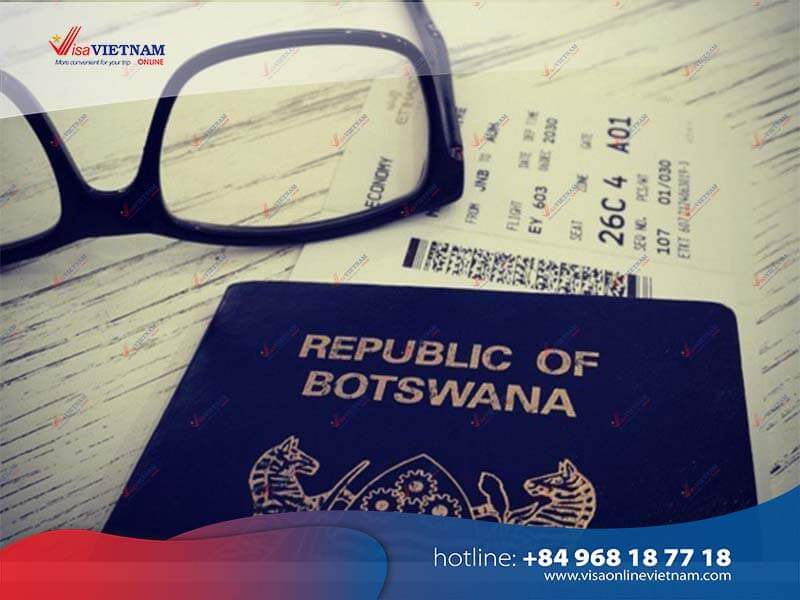 Best way to apply for Vietnam visa in Botswana