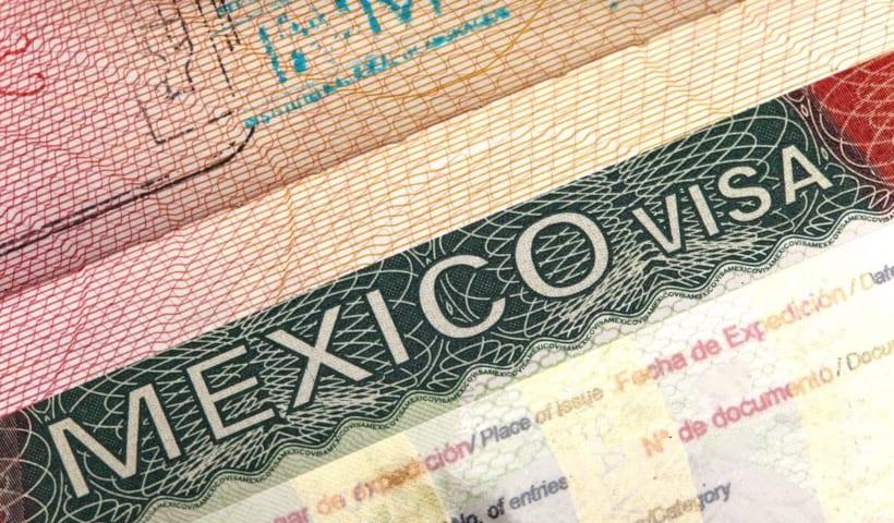 thủ tục xin visa Mexico