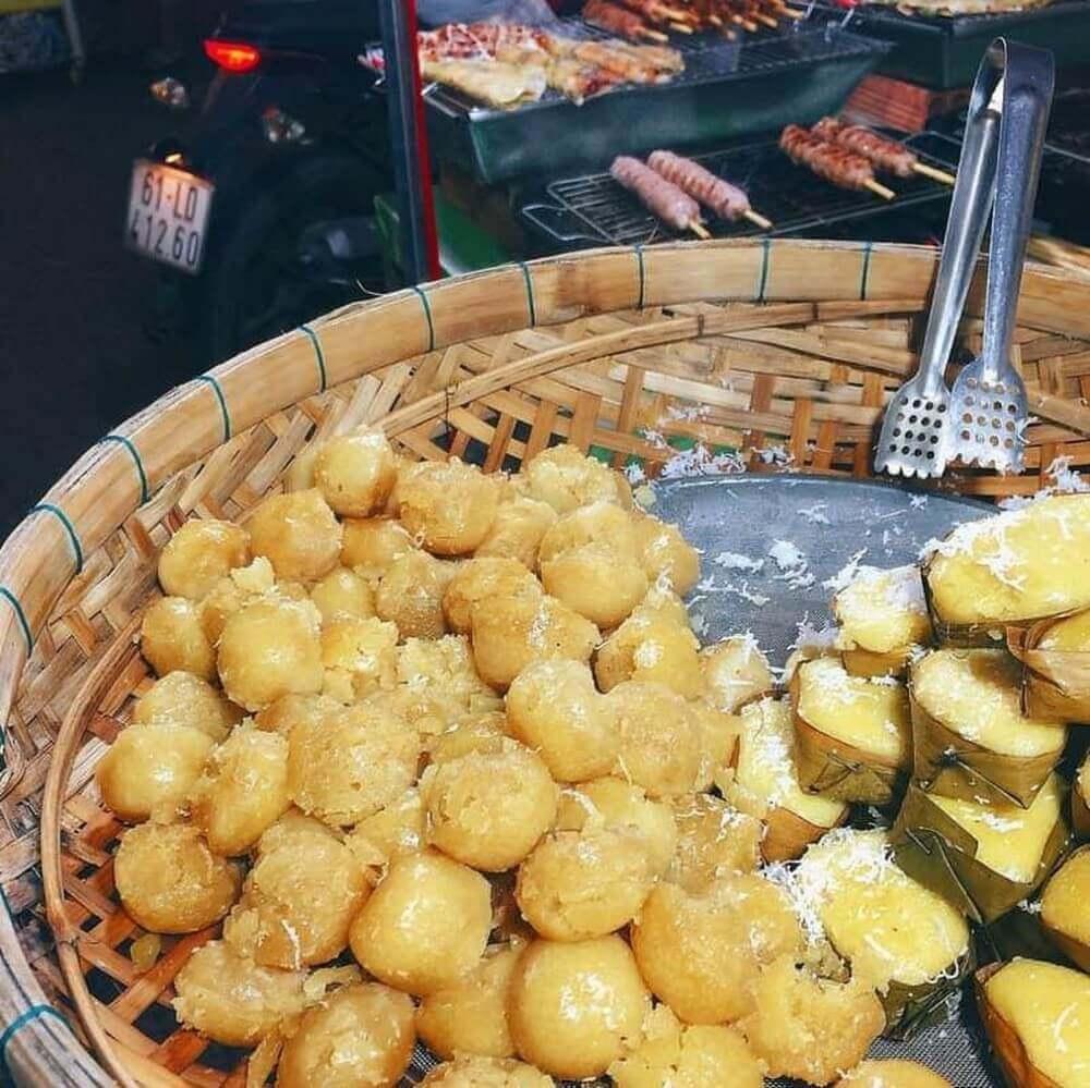 Đến chợ đêm Bạch Đằng Phú Quốc thưởng thúc bánh churros độc lạ